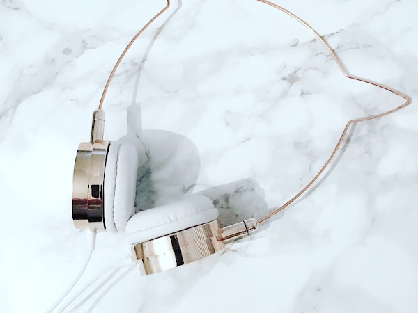 Skinnydip Purchase: Rose Gold Kitty Headphones