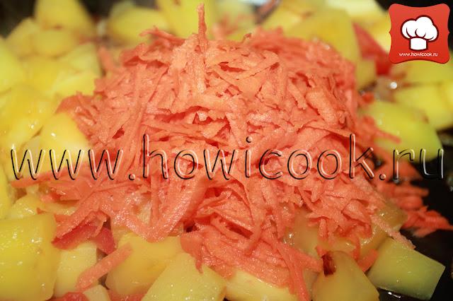 рецепт овощного рагу с пошаговыми фото