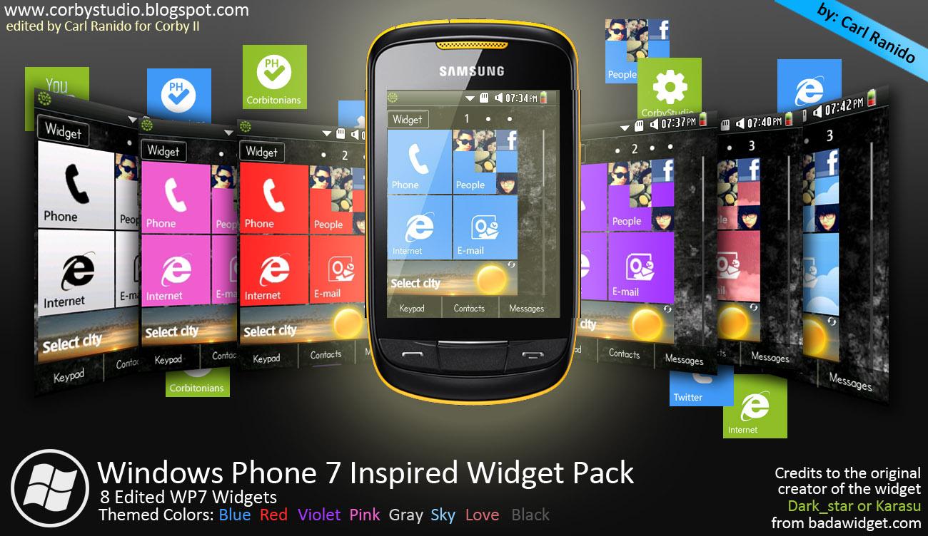 Samsung corby 2 widgets free downloads lostbr.