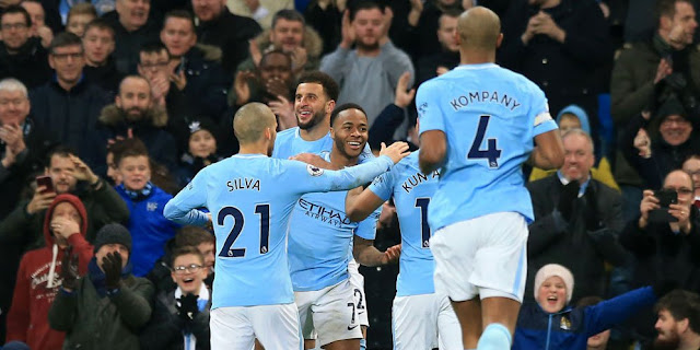 Hasil Pertandingan Liga Inggris : Manchester City Tekuk Bournemouth 4-0 Di Etihad