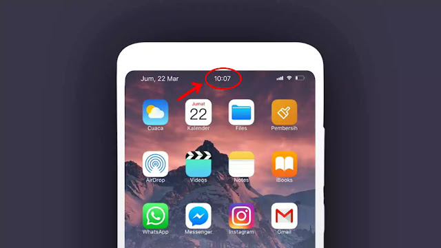 The Iphone Xs Max Miui 10 Theme Mtz {Forum Aden}