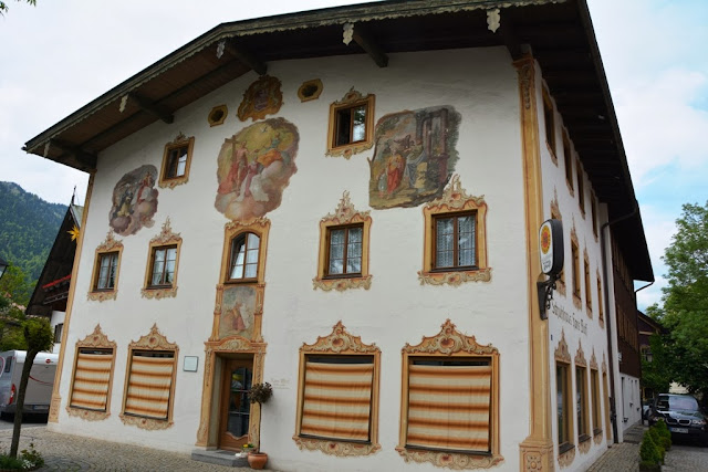 Oberammergau wall paintings