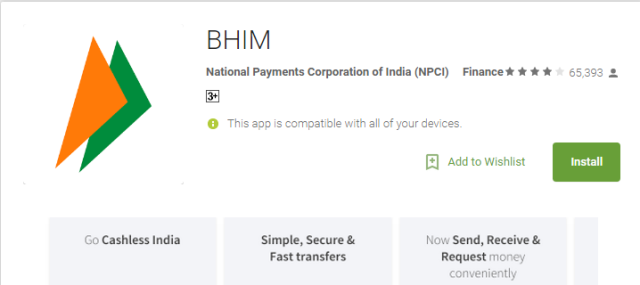 BHIM Bharat Interface for Money Download Original Android App | prime Minister of India Mr Narendra Modi ha sintroduced new App | Prime Minister has said that it is Best Gift for New Year 2017 | Download BHIM App fpr Money Transaction with Finger Prints | It is more helpful to people .It has amazing features. If we want to transfer the money ,we can use just finger prints only.It works without internet also. We can Transfer 50 Rupees upto 3000 Rupees. They Conduct Lucky Draw also download-bhim-app-bharat-interface-for-money-transfer-narendra-modi