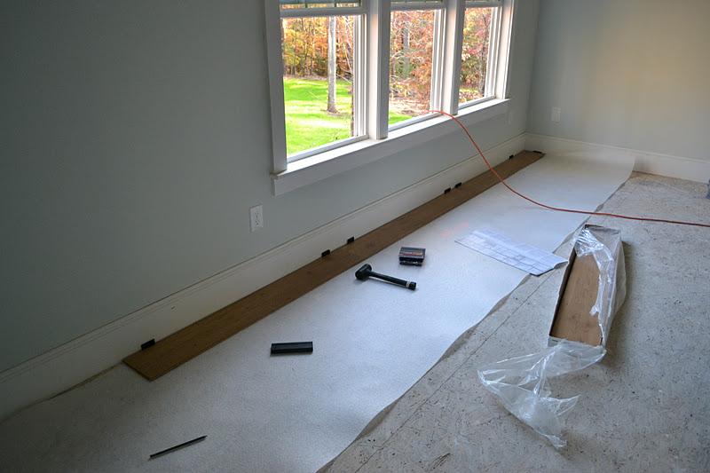 A Work In Progress We Re Floored