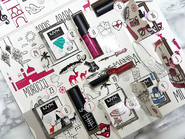 NYX Wanderlust Advent Calendar