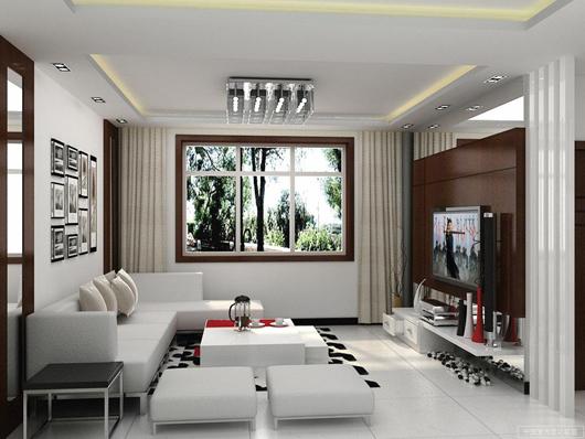 Phong thủy không gian phòng khách cho không gian trật hẹp