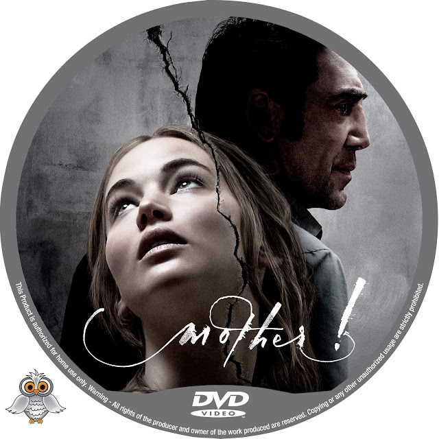 Mother! DVD Label