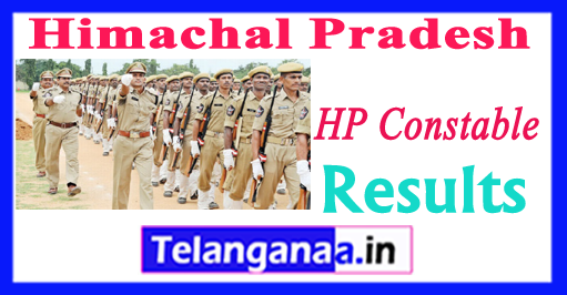 HP Himachal Pradesh District Wise Constable Result 2018