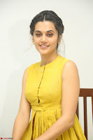 Taapsee Pannu looks mesmerizing in Yellow for her Telugu Movie Anando hma motion poster launch ~  Exclusive 031.JPG