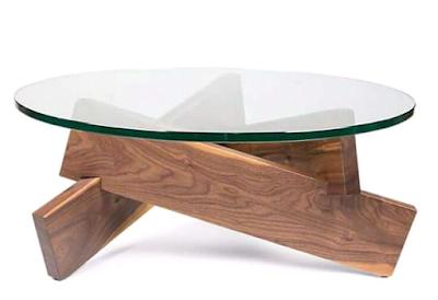 meja unik dari kayu