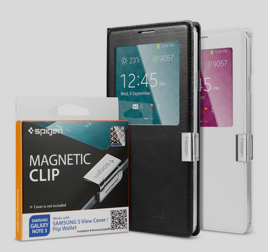 10. Magnetic Clip Cover for Note 5