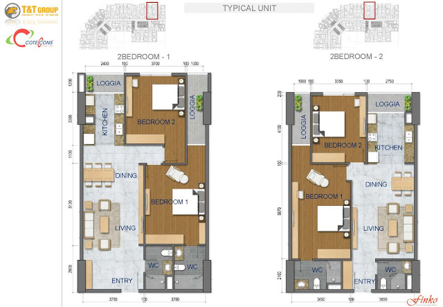 thiết kế căn hộ t&t riverside 440 vĩnh hưng