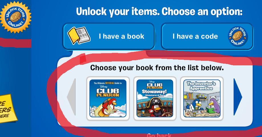 club penguin codes to unlock free items