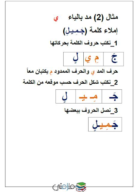 طريقة تعليم الاملاء بشكل صحيح في خطوات بسيطة