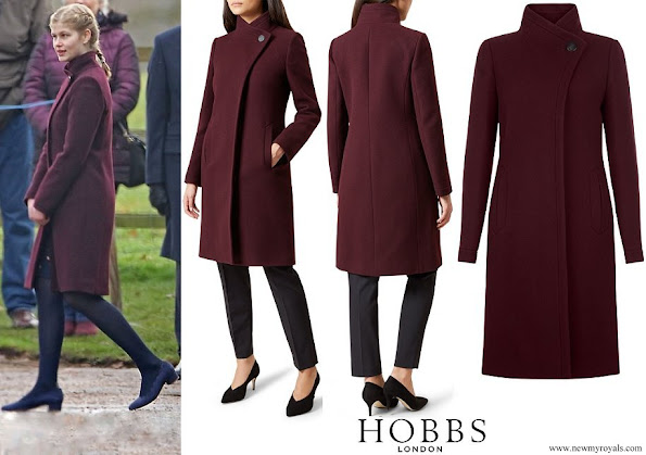 Lady Louise Windsor wore Hobbs Soraya Coat