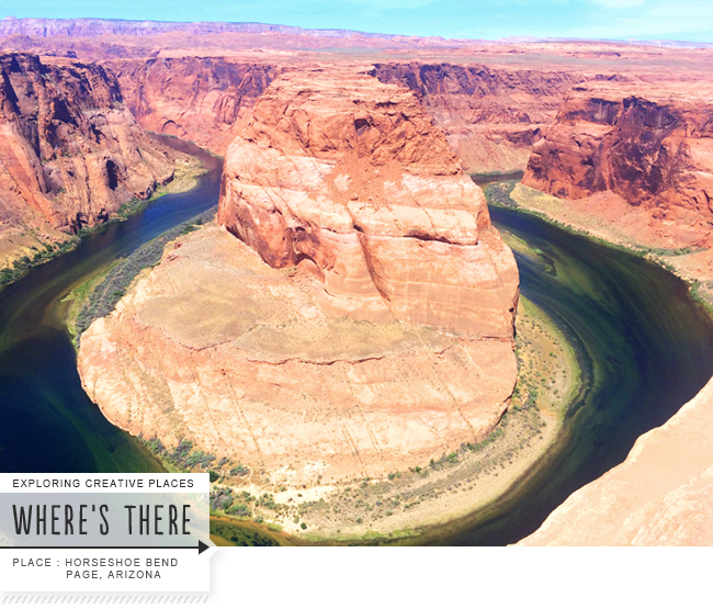 Horseshoe Bend, Page Arizona. CreativelyCurated.com #sandidevenny #horseshoebend #places
