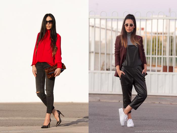 Resumen de los mejores looks del mes de febrero de la blogger de moda de Valencia withorwithoutshoes