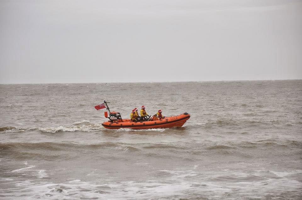 The coastal patrol on the Isle of Wight