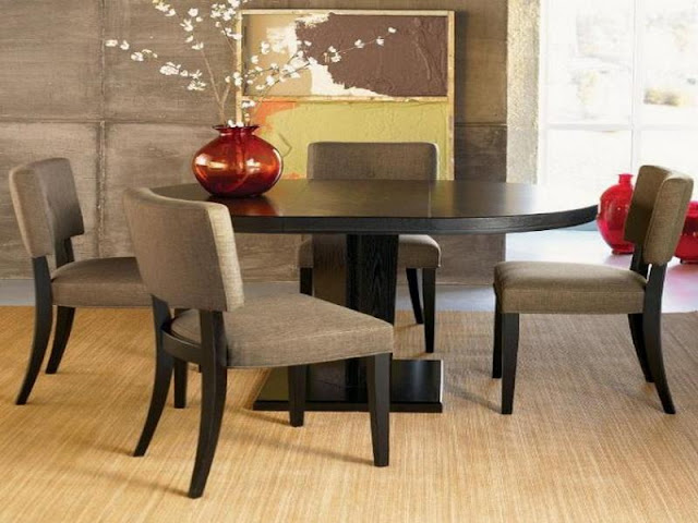Modern Room with Round Dining Tables Modern Room with Round Dining Tables elegant designer dining table and chairs modern round dining room table manaldrivingschool