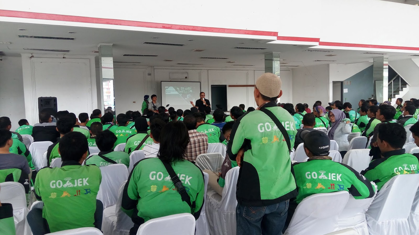 Driver Gojek Lampung Ikut Pelatihan Safety Riding