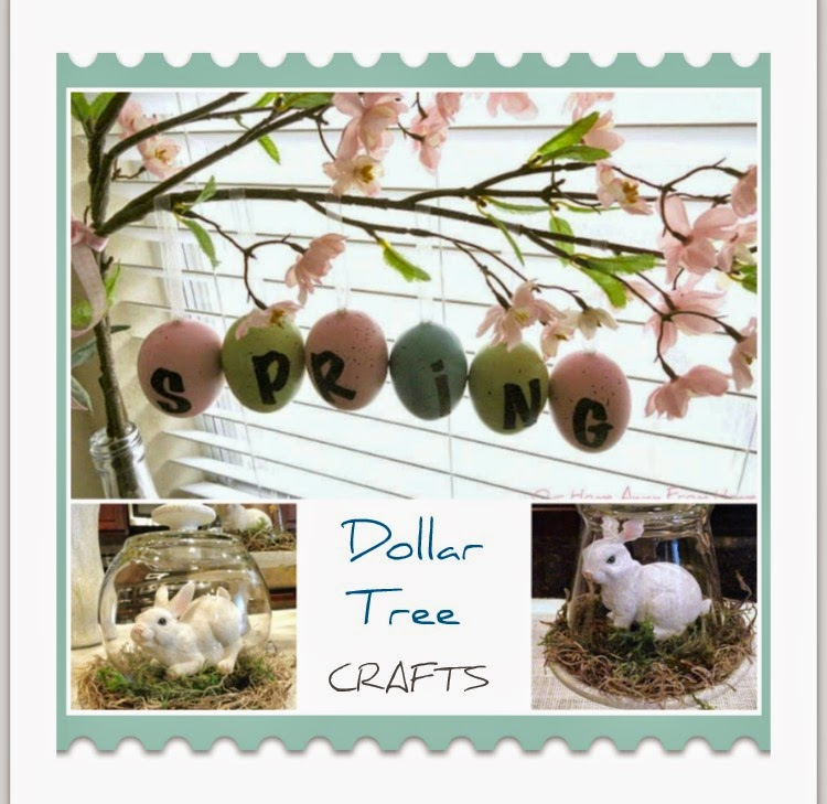Our Home Away From Home Spring Crafts Ideas Using Dollar Tree Items