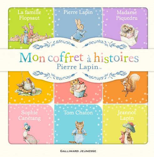 Mon coffret à histoires Pierre Lapin couverture