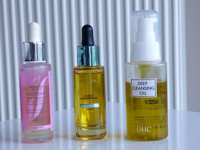 huile rééquilibrante visage de l'oréal