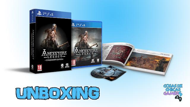 Unboxing Ancestors Legacy Conqueror's Edition PS4
