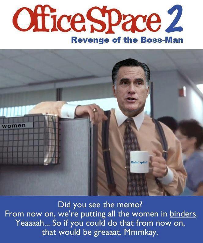 Political Memes Mitt Romney Starring In Office Space 2