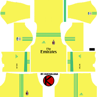 AC Milan Kits 2017/2018 - Dream League Soccer