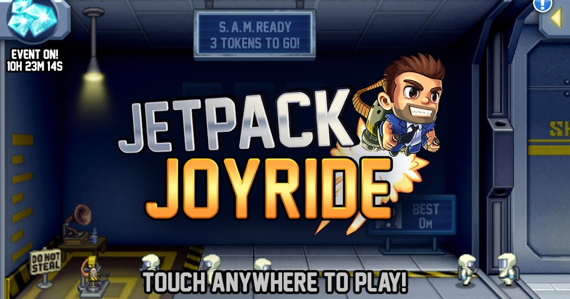 تحميل لعبة jetpack joyride للكمبيوتر