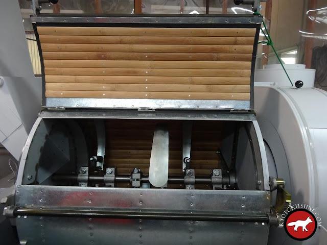 Machine de broyage du thé vert