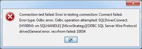10054 Microsoft Odbc Sql Server Driver - multiprogrampl