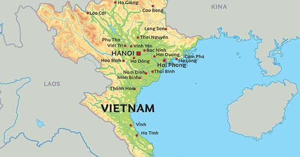 vietnam kart Rigmors liv: Om Vietnam, februar 2017, del 1 vietnam kart