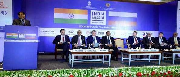 Suresh Prabhu announces fast track mechanism to promote Russian investments in India