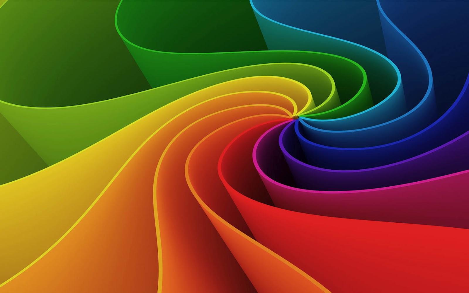 Abstracte wallpaper met felle kleuren Mooie Leuke