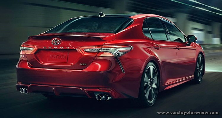 Toyota Camry 2018 Prototype Caught Sporting Four Exhaust Tips