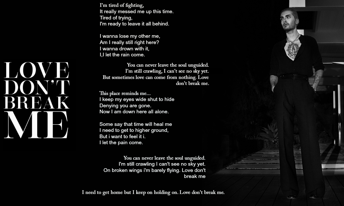 Billy Love Dont Break Me Official Lyrics