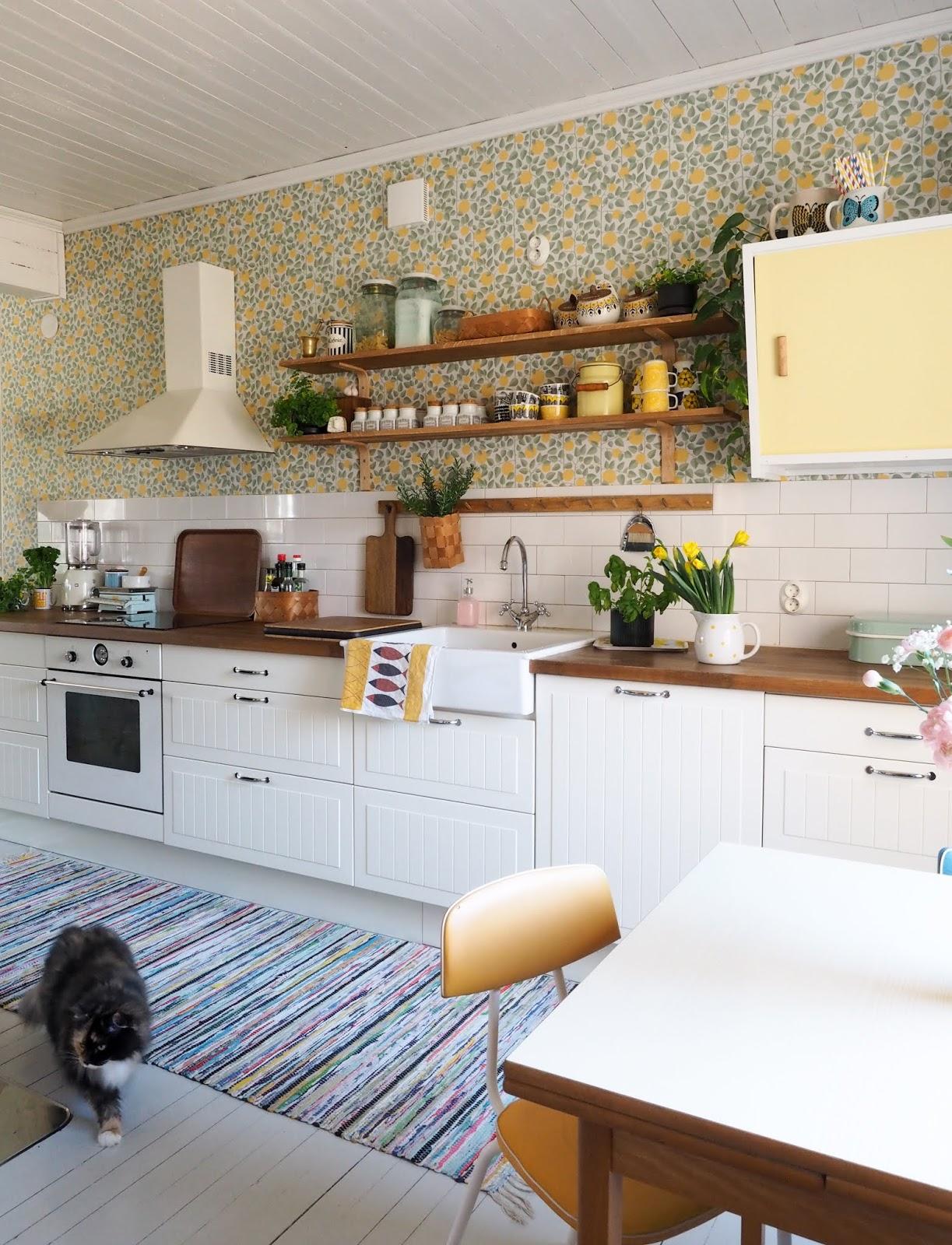 keittiön uudistaminen pienellä rahalla