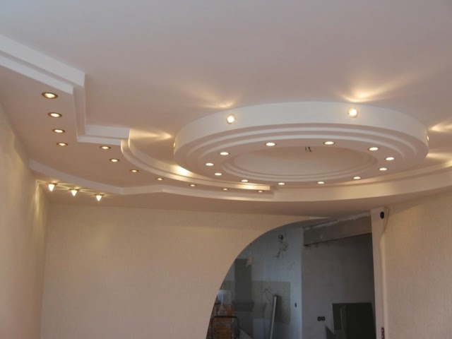 22 modern pop false ceiling designs latest catalog 2018 for Decoration placoplatre