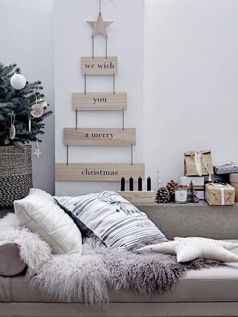 Árbol de Navidad diferente y moderno