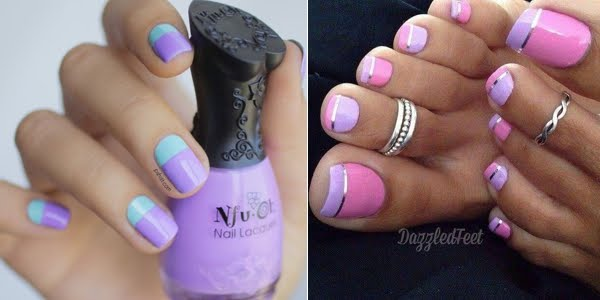 Awesome Lavender Nails Omg Love Beauty