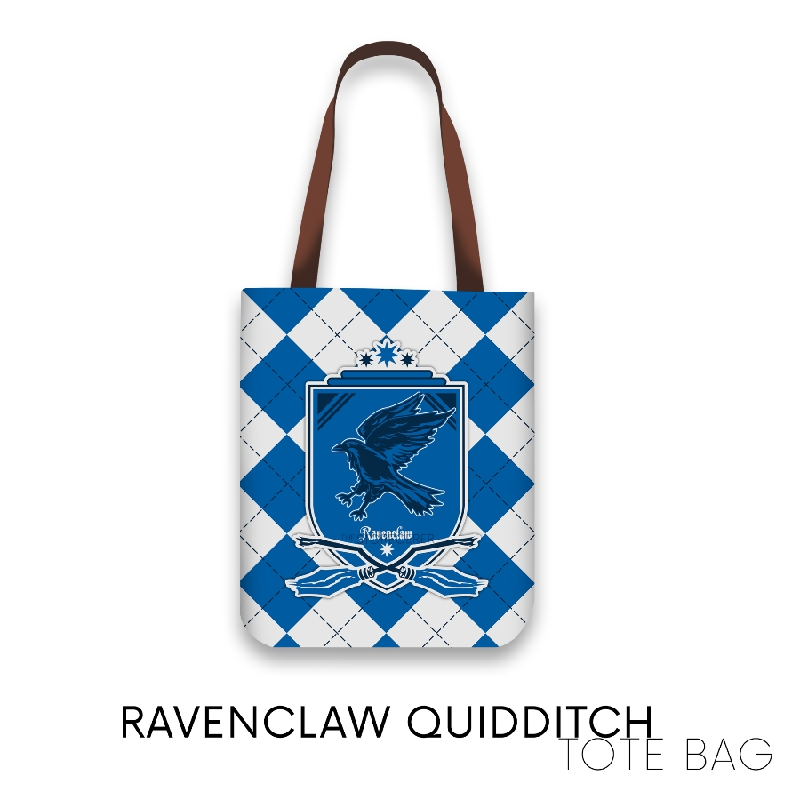 Totebag Ravenclaw Quidditch