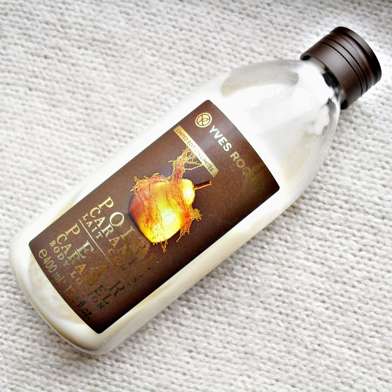 YVES ROCHER | Plaisirs Nature | mleczko do ciała KARMELIZOWANA GRUSZKA