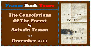http://francebooktours.com/2013/10/03/sylvain-tesson-on-tour-the-consolations-of-the-forest/