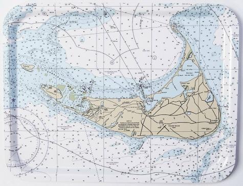 Nautical Chart Home Decor Accessories