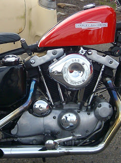 ironhead sportster xlch 1976 red engine