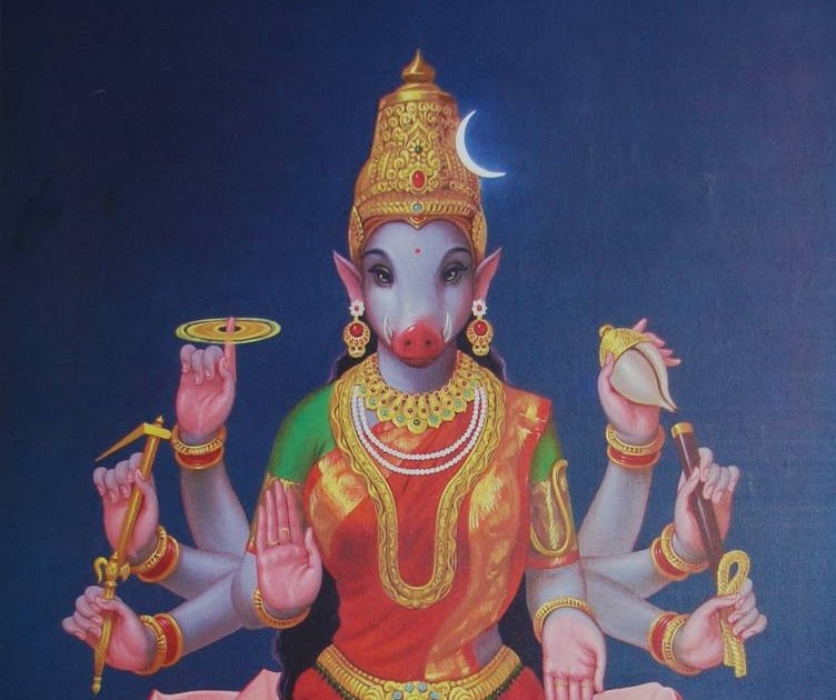 SREENAGARA SHOBANAM: SRI VARAHI - 5th of the SAPTHA MATHAS
