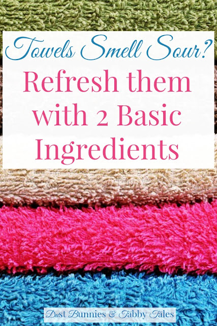 Refresh Your Towels With Two Basic Ingredients