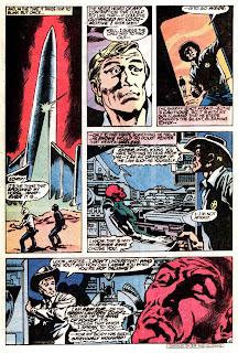 Green Lantern v2 #149 dc comic book page art by Don Newton